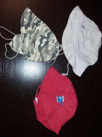 Фирменные панамки и шапочки mothercare