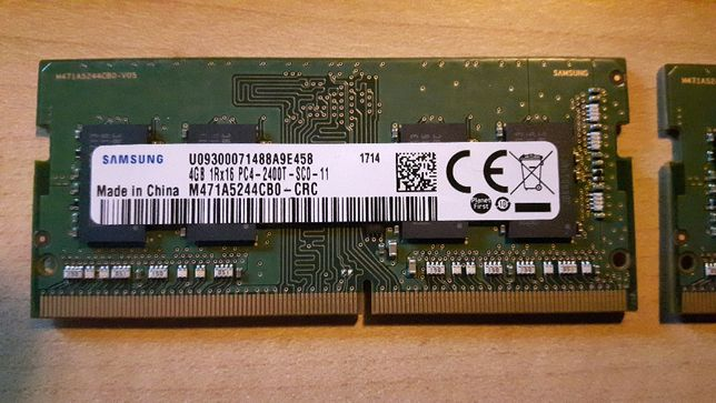 Pamięć RAM 4GB DDR4 PC4-2400 (w 1 kości)