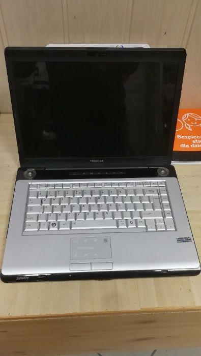 Laptop używane Toshiba A200 KAMERA 320GB Gwarancja sklep Radom Radom - image 1