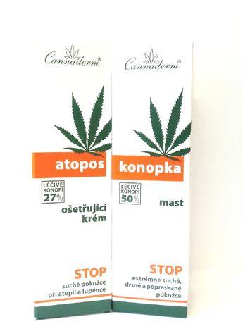 Zestaw Atopos i Konopka AZS sucha skóra łuszcząca + Gratis