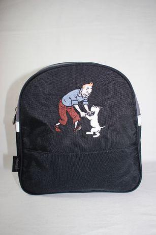 Mochila Escolar Criança - Tintin Milu - Herge - Nova nunca usada
