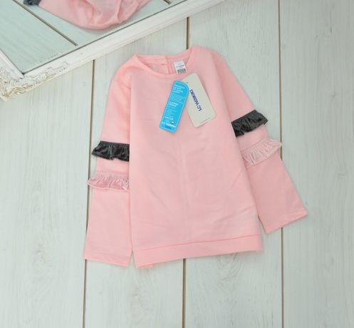 Кофта новая на девочку розовая