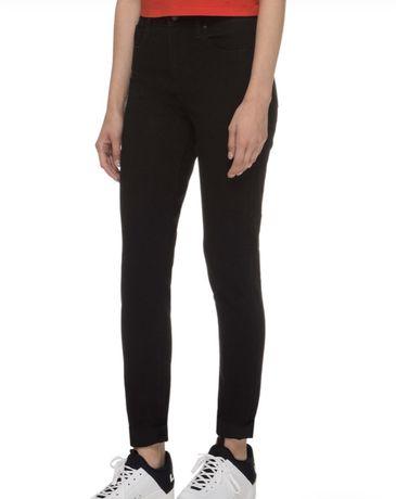 LEVI'S Женские черные джинсы 721 High Rise Skinny