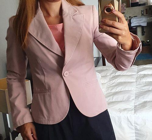 Blazer rosa tamanho S