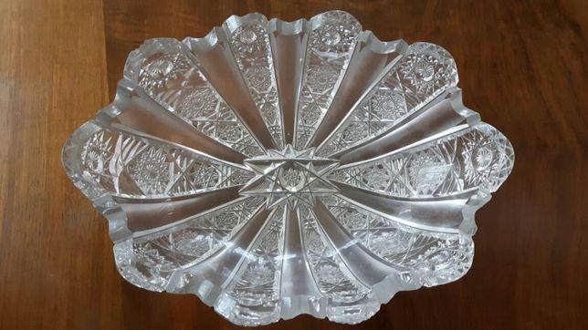 Kryształy: kryształowa miska - perła PRL