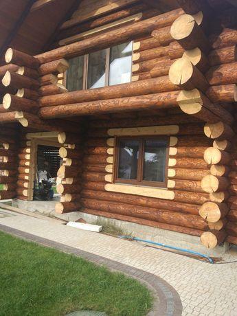 Продажа деревянных коттеджей из дикого Закарпатского сруба