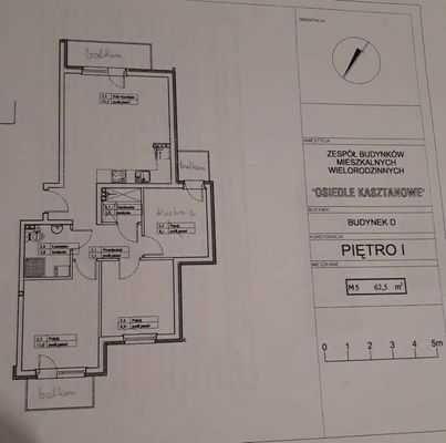 Sprzedam / wynajmę mieszkanie 62,5m 2