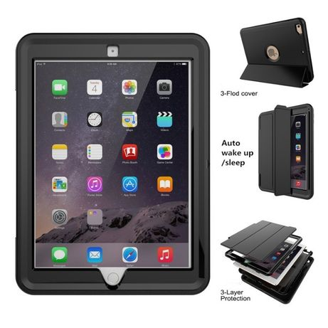 Противоударный чехол для iPad Mini / 9.7 / Pro / 11 Полная защита