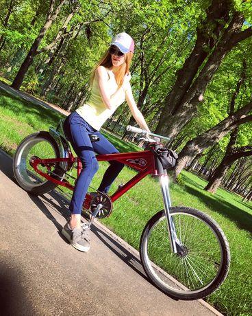 Чоппер Велосипед Benetto(Оригинал) Прогулочный Круизер Чопер