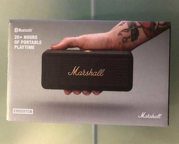 Coluna Bluetooth Marshall Emberton
