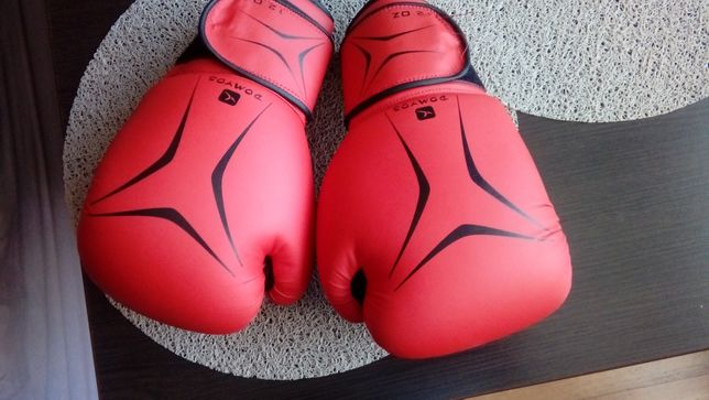 Rękawice bokserskie i ochraniacze