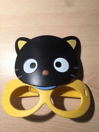 Маска кота с очками . От 3 - 7 лет