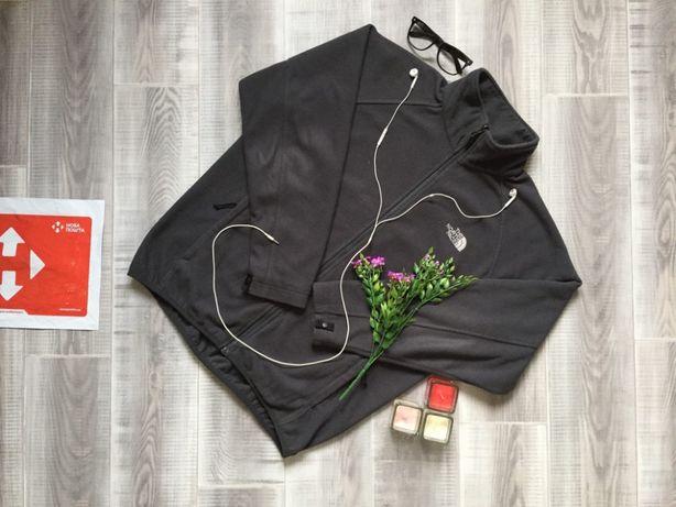 Олимпийка серая Nort Face, размер M L , котон шерсть кофта худи