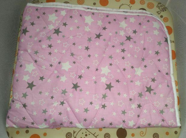 Новое детское стёганое одеяло,130*100