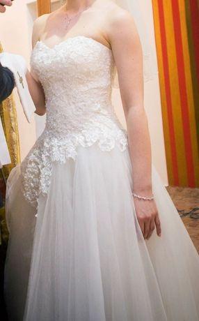 Piękna i elegancka suknia ślubna Anabelle Azalia !