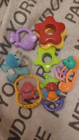 Игрушки для новорожденных, грызунки, погремушки