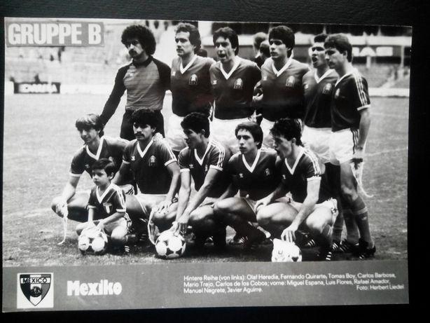 Piłka nożna Mundial 1986 r.Grupa B.Meksyk,Belgia,Irak Unikat! 30 zł.