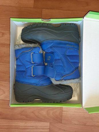 Сапоги зимние campri для мальчиков сноу-бутсы ботинки на липучке 29