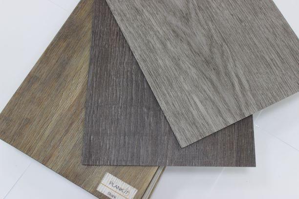 Виниловая (ПВХ) плитка GRABO Plankit со склада в разных декорах.