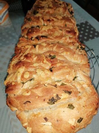 Chleb domowy odrywany