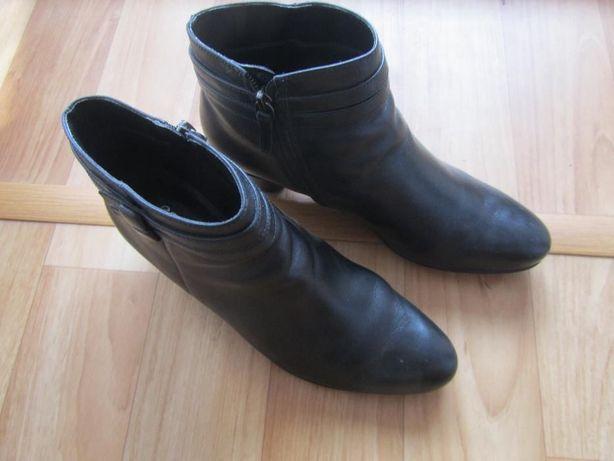 Жіночі ботинки ecco leonora 45мм, ботильоны полуботинки