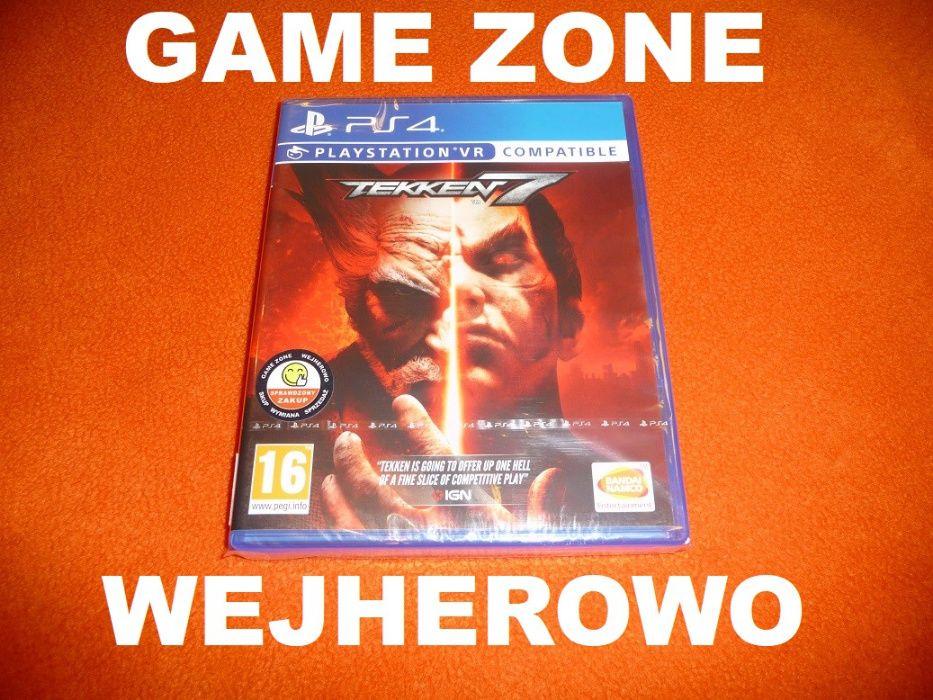Tekken 7 PS4 + Slim + Pro = PŁYTA = Wejherowo + opcja VR Wejherowo - image 1
