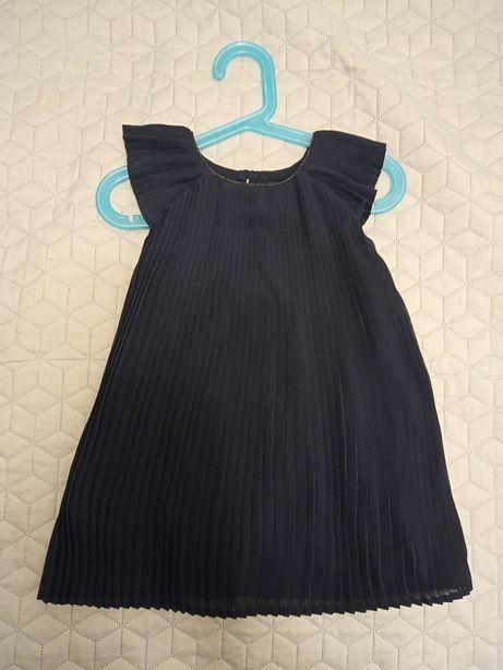 Sukienka plisowanka dla dziewczynki