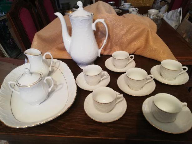 Serwis porcelanowy Limoges. Espresso. Kawa, porcelana