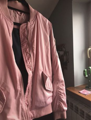 Różowa bomberka H&M