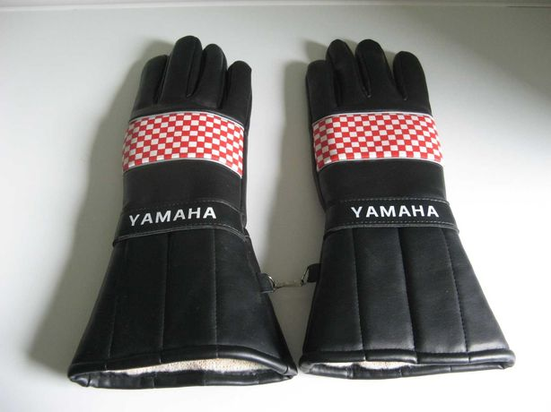 Rękawice Motocyklowe Yamaha z lat '80