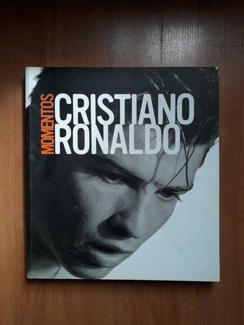 """Livro """"Cristiano Ronaldo Momentos"""" (portes incluidos)"""