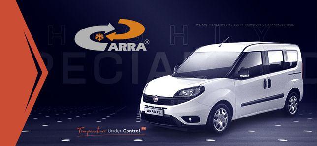 Przewoźnik – ARRA – samochód dostawczy – chłodnia