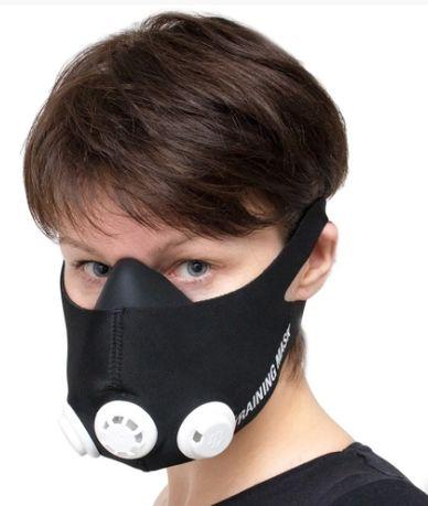 Маска для тренировки дыхания Унисекс + чехол
