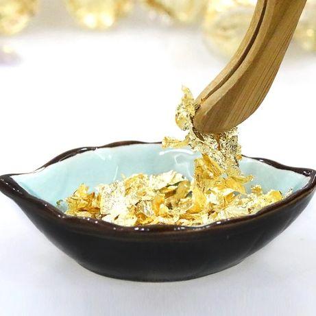 Złoto dekoracyjne jadalne