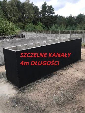 SZAMBO betonowe SZAMBA zbiornik na deszczówkę, kanał samochodowy 4m