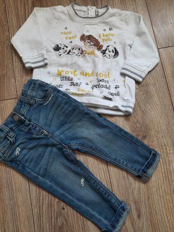 Mayoral bluza i spodnie rozmiar 68