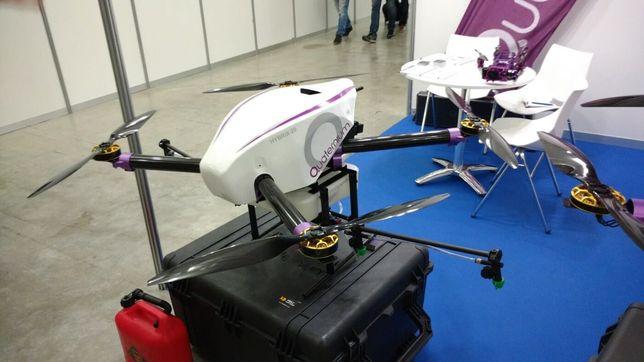 Грузовий дрон коптер безпілотник квадрокоптер для доставки груза