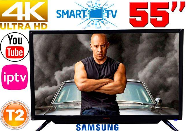 "ХИТ! 4K телевизоры Samsung SmartTV 55"" 3840x2160,IPTV,Android,T2,WIFI"