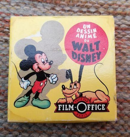 Antiga Fita Filme da Walt Disney 8mm + Caixa Original - Em Francês