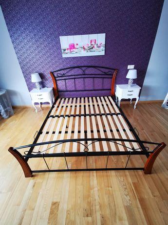 Łóżko metalowe 180x200