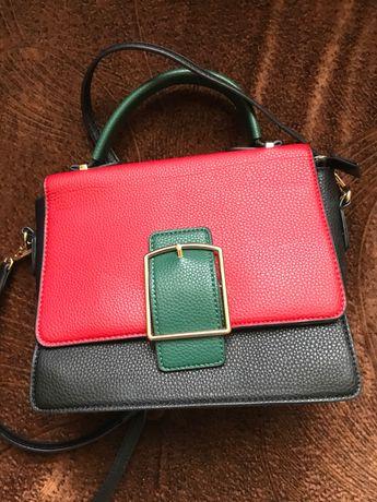 Женская сумка сумочка из эко кожи top handle кроссбоди