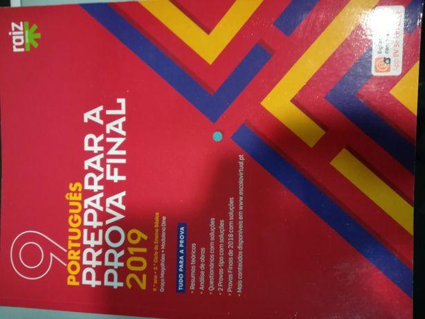 Preparar o exame de português 9 ano.