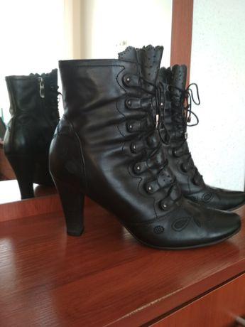 Женские, кожаные ботинки полусапожки ТANSSICO