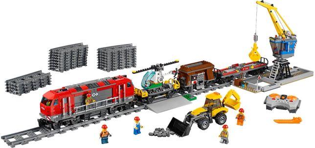 Lego City 60098 Мощный грузовой поезд
