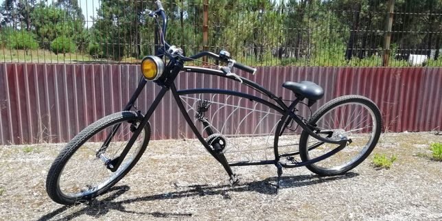 Bicicleta chopper Spider custom Cruiser