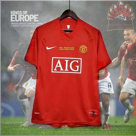 Manchester United Retrô Vintage Champions League Final 2008