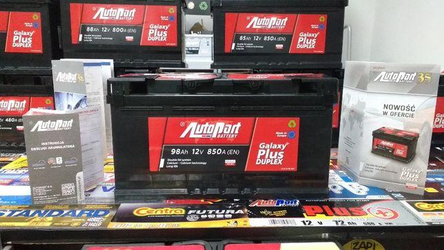 Akumulator AutoPart Mielec Galaxy Plus Duplex 98Ah 850A Diesel Kraków