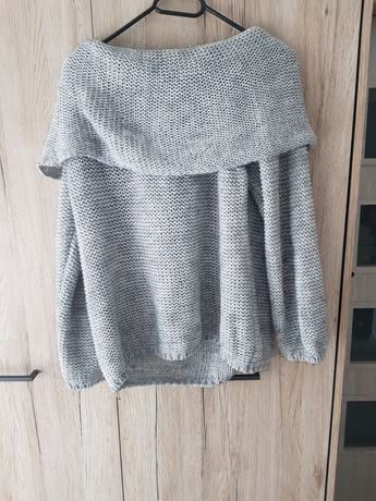 Ciepły sweter oversize