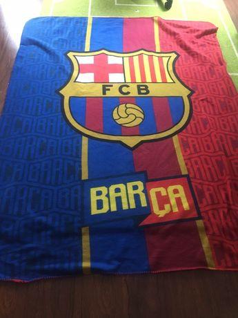 Koc piłkarski FCB, fc Barcelona, narzuta