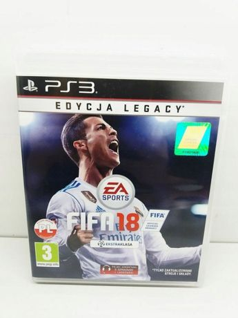 Gra na PS 3 FIFA 18